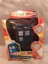 Doctor Who Tardis Talking Money Box - Item Number 01620