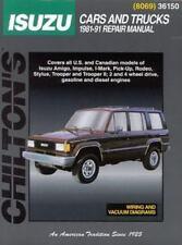 Isuzu Cars and Trucks 1981-91 by Chilton book repair manual 36150