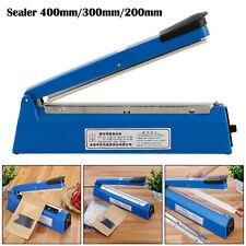"8/12/16"" Hand Impulse Heat Heating Sealer Plastic Bag Film Sealing Machine Set"