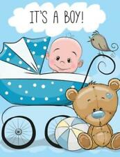 It's a Boy: Baby Shower Guest Book Sign In/Guest Registry with Gift Log, Fr...