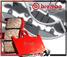 2X Freno Brembo SA sinter frente SX+DX Buell XB12 R Firebolt 2009>11