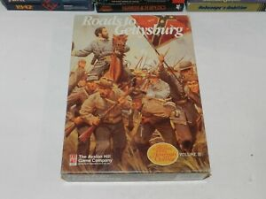 Roads to Gettysburg Avalon Hill Bookcase Game CIB Volume III Unpunched 8921