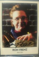 Ron Frenz 1992 Famous Comic Book Creators Card Auto Signed SPIDERMAN THOR ARTIST