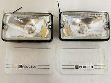 Peugeot 205 gti conduite lampes nouveau clair lentille/verre clair & clear covers
