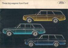Ford Taunus Estate Turnier Van 1964-65 UK Market Sales Brochure 12M 17M 20M
