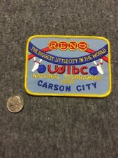 Vintage Wibc Carson City Reno 1988 National Tournament Bowling Patch Mint