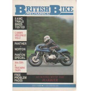 British Bike Mechanics Magazine July 1988 (025) PANTHER NORTON AMC BSA