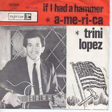 7inch TRINI LOPEZ if I had a hammer HOLLAND  EX (S1614)