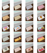 "Sweet Ice Cream Bath Mat Bathroom Decor Plush Non-Slip Mat 29.5"" X 17.5"""