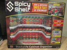 SPICY SHELF rack DELUXE Expandable Stackable Cabinet & Pantry Organizer