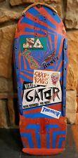 Vintage Vision Gator 1984 Mark Rogowski skateboard used