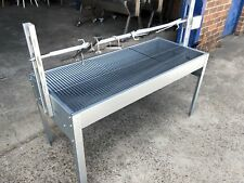 NEW 40KG CHARCOAL BBQ SPIT ROTISSERIE BARBECUE GRILL - CO2