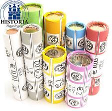 Belgien 111 Euro 2003 bfr. KMS 1 Cent bis 2 Euro Münzen in 8 Rollen Rollensatz