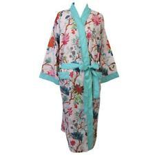Stunning Floral Kimono style 100% cotton Dressing Gown/Robe BNWT