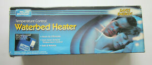 Blue Magic Temperature Control Waterbed Heater Hard Side New Old Stock 2001