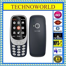 UNLOCKED NOKIA 3310 CLASSIC+3G+BLUETOOTH+FM+CAMERA+MUSIC+FLASHLIGHT+CHEAP MOBILE