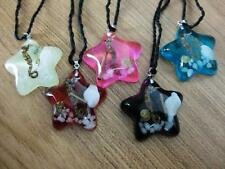 5pc lots mix style Natural five star style sea dragon new necklace pendant