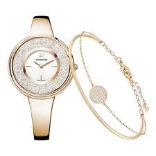 Swarovski Crystalline Pure Set - Bangle And Ladies Watch