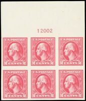 534, Mint Superb NH WIDE TOP Plate Block of Six Stamps Cat $200.00 - Stuart Katz