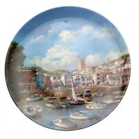 Danbury Mint Brixham Sarfe Harbours Collection Clive Madgwick Collector Plate