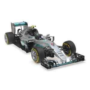 Mercedes W07 Gp. Abu Dhabi Nº6 Nico Rosberg 2016 MINICHAMPS 1:18