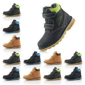 Neu Kinder Winter Boots Outdoor Wanderschuhe Warm Gefüttert 2137 Schuhe Gr 31-36