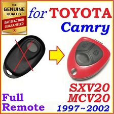 Fit Toyota Camry Complete Remote One Button - Year 1997 - 2002 - SXV20 / MCV20