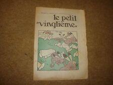 1934 le Petit Vingtieme con Popol e Virginie Cover Illustrazione