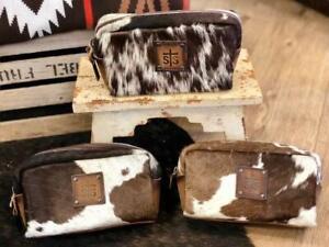 STS Ranchwear Bebe Cowhide Cosmetic Bag STS32733