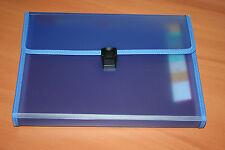 Exacompta Trieur Familial valisette 12 compartiments 24 x 32 cm Violet. Neuf