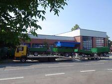 Angebot  für den Transport  Traktor Anhänger Radlader  Maschinentransport