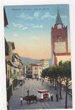 Madeira, Funchal, Rua do Aljube Postcard, B145