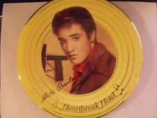 Elvis Presley Solid Gold Collection Heartbreak Hotel Plate