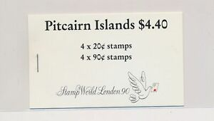 LO38310 Pitcairn Island 1990 stamp world London good booklet MNH