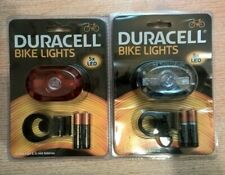 Duracell 5 LED Front & Rear Bicycle Light Set
