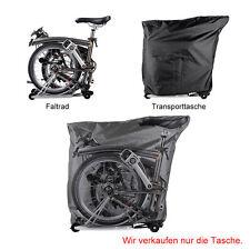 RockBros Fahrrad Faltbar Tasche Transporttasche Für Brompton Faltrad Schwarz Neu