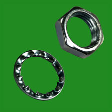 8x M10 Washers & Nuts for Securing Allthread Tubing; Electrical Lamp Repair