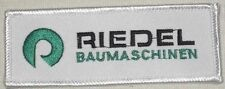 Riedel Baumaschinen Patch - Germany