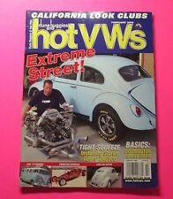 DUNE BUGGIES AND HOT VWs MAGAZINE FEB/2008...EXTREME STREET COVER CAR