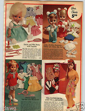 1971 PAPER AD Doll Miss Dollikin Raggedy Ann Andy Sleeping Bags Talking Drowsy