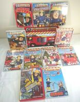 Fireman Sam Complete 10 Discs DVD Box Set Edition & Extra Episode - VGC