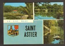 SAINT-ASTIER (24) CYGNE & BLASON au LAC BLEU