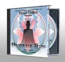 THROAT / SECOND / Vishuddha CHAKRA Meditation Energy Balancing Brainwave Music