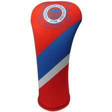 US COAST GUARD HYBRID  Golf Club Head Cover Cover Easy on and Off USA MADE