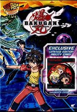 BRAND NEW DVD // BAKUGAN BATTLE BRAWLERS  - VOL. 7 // TELATOON //5 EPISODES