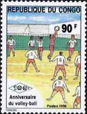 Timbre Sports Volley Congo 1028 ** année 1996 lot 26219