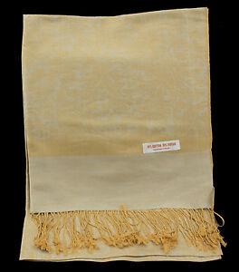 Echarpe Etole Chale Cheche Foulard 180x172 Cm Nepal Coton-viscose 9184