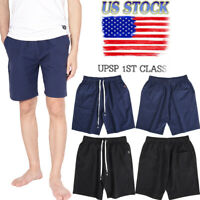 Summer Men's Casual Comfy Shorts Baggy Gym Sport Jogger Sweat Shorts Pants NEW