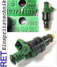 Einspritzdüse BOSCH 0280150905 VW Golf G 60 Kunststoffkappe gereinigt & geprüft