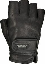 Harley Motorcycle Can-Am Riders Sport Car FINGERLESS Leather GLOVES MEDIUM NEW